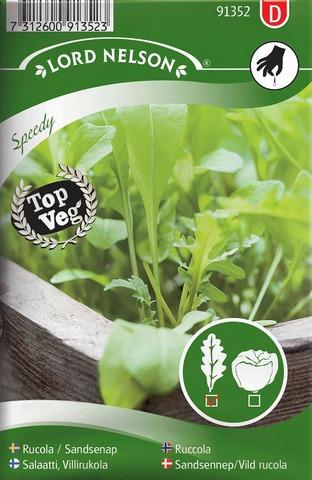Nelson Garden Siemen Salaatti, Villirukola Speedy