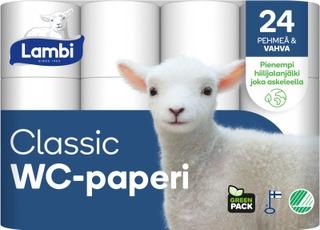 Lambi Wc-Paperi 24Rl Valkoinen