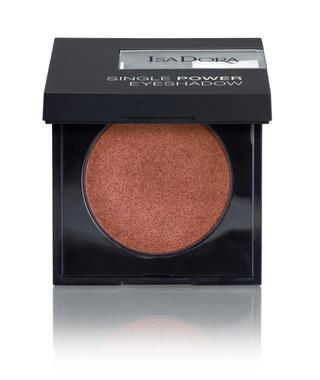 Isadora Single Power Eye Shadow 2,2G 09 Copper Coin Luomiväri