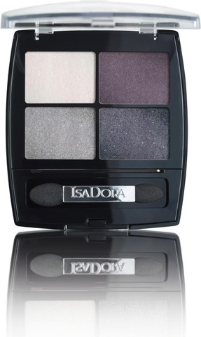 Isadora 5G Eye Shadow Quartet 37 Crystal Mauve Luomiväri