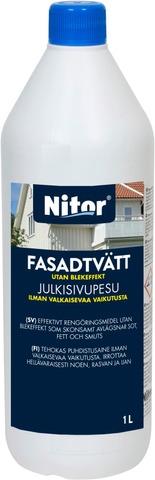 Nitor 1L Julkisivupesuaine Tiiviste