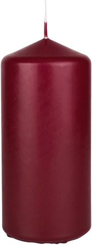 Duni 15x7cm 62h viininpunainen pöytäkynttilä