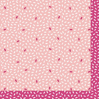 Duni 20Kpl 24Cm 3-Krs Rice Pinkki Lautasliina