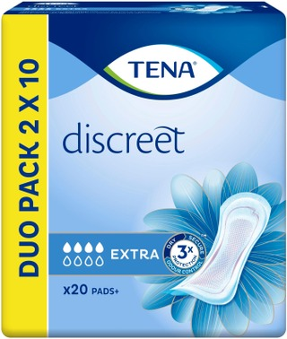 TENA side Discreet Extra 20 kpl