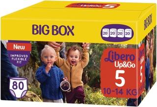 Libero Up&Go Housuvaippa Koko 5, 10-14 Kg, 80 Kpl
