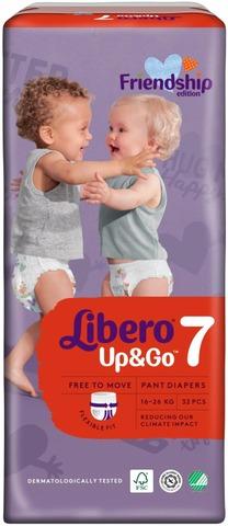Libero Up&Go Housuvaippa Koko 7, 16-26 Kg, 32 Kpl