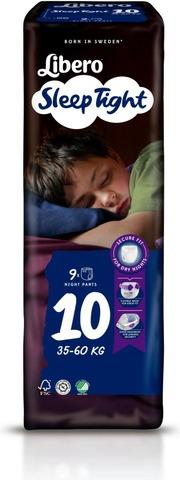 Libero 9 kpl SleepTight 10, 35-60kg