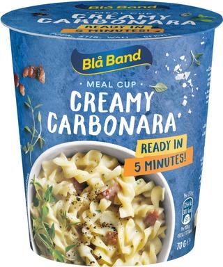 Blå Band Meal Cup Creamy Carbonara Carbonara-Pasta-Ateria 70G