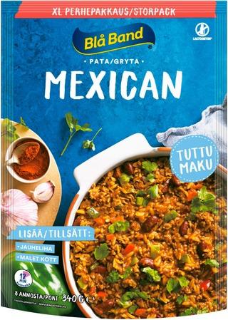 Blå Band laktoositon Mexican pata XL perhepakkaus riisi-kasvis-mausteseos 340g