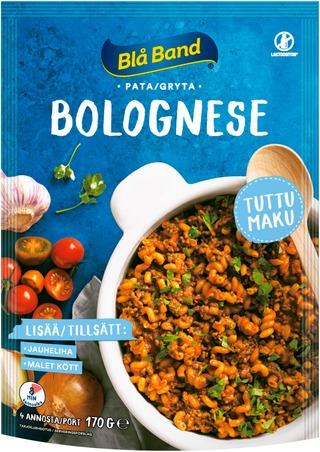 Blå Band Laktoositon Bolognese Pata Pasta-Kasvis-Mausteseos 170G