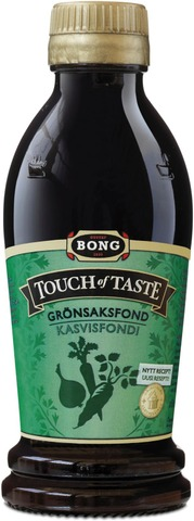 Bong Touch Of Taste Kasvisfondi 180Ml