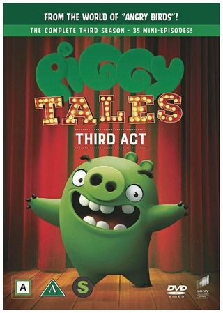 Dvd Angry Birds Piggy Tales: Third Act