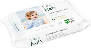Naty Eco Sensitive Wipes Puhdistuspyyhe