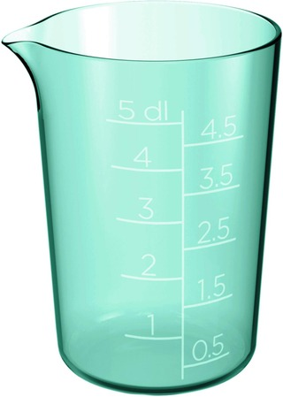 Gastromax mittakannu 0,5 L jaden vihreä