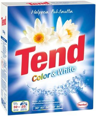 Tend 1,8Kg Color&White Pyykinpesujauhe Kirjo-Ja Valkopyykille