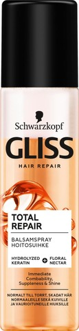 Schwarzkopf Gliss 200Ml Total Repair Hoitoainesuihke