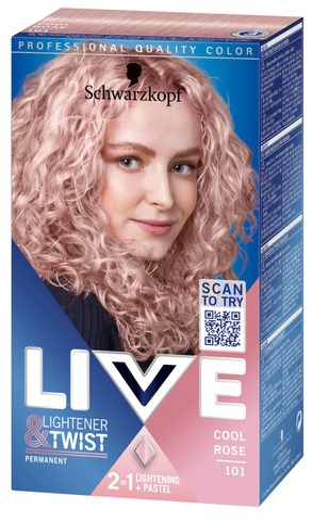 Schwarzkopf Live 101 Rose Blonde Hiusväri