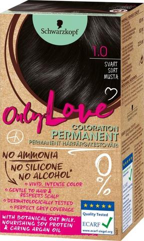 Schwarzkopf Only Love 1.0 Hiusväri Musta