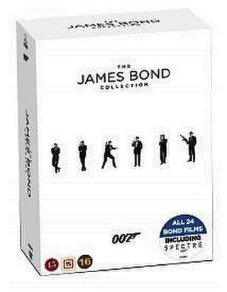 James Bond Complete Box Dvd