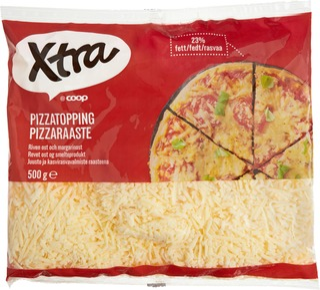 X-Tra Pizzaraaste 23% 500G
