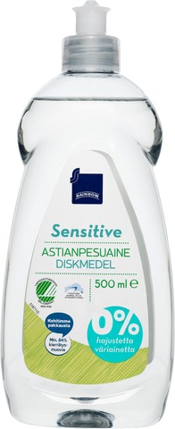 Rainbow 500Ml Sensitive Astianpesuaine