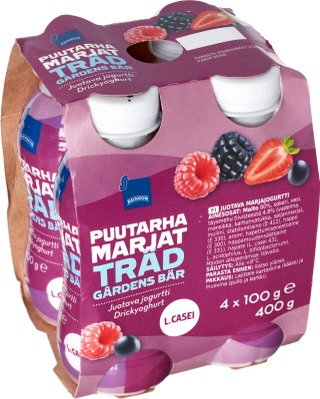 Juotava Marjajogurtti