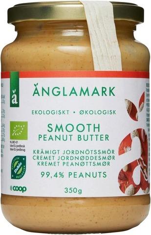 Änglamark 350g luomumaapähkinävoi pehmeä
