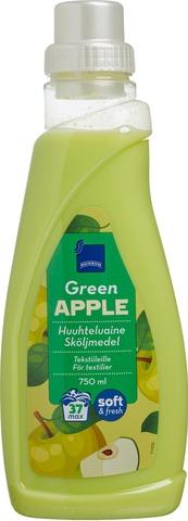 Rainbow 750ml Green Apple tekstiilien huuhteluaine vihreä omena