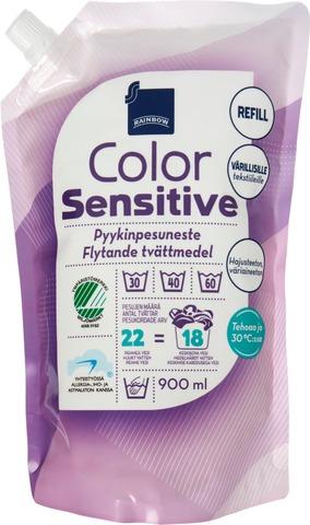 Rainbow Color pyykinpesuneste värillisille tekstiileille 900ml