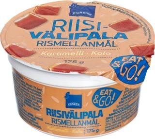 Rainbow Riisivälipala Karamelli 175G
