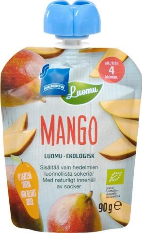 Rainbow Luomu Mangosose 90 G, 4 Kk