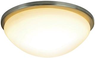 Heat Led Easy LED-kattoplafondi 33cm harjattu teräs