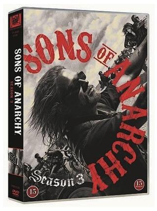 Sons Of Anarchy 3. Tuotantokausi 4Dvd