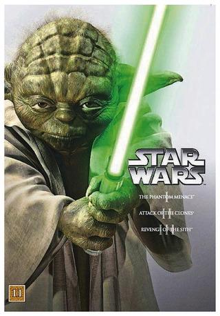 Star Wars Prequel Trilogy 3Dvd