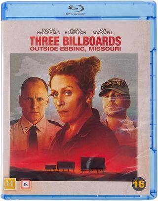 Three Billboards Outside Ebbing, Missouri Blu-Ray