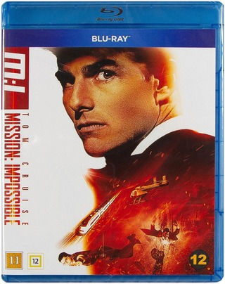 Mission Impossible 1 Blu-Ray