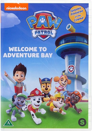Paw Patrol - Welcome To The Adventure Bay Dvd