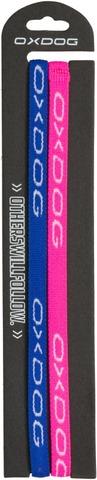 Slim Hairband Pink + Blue 2Pack Hiusnauha