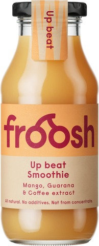 Fazer Froosh Up Beat Smoothie Mango-Guarana-Kahviuute 250Ml