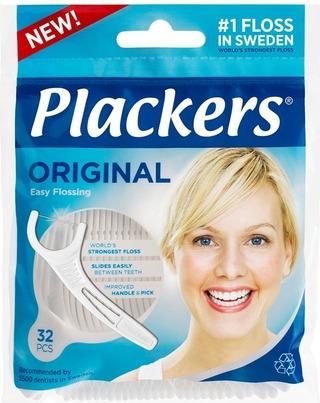 Plackers 32 kpl Hammaslankain Original