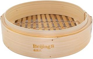 Beijing8 Bamboo Steamer Large Höyrystin
