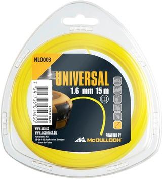 Universal Trimmerisiima Pyöreä 1,6Mm 15M