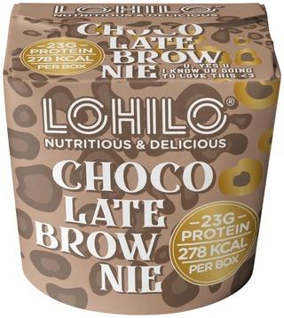 Lohilo 350Ml Chocolate Brownie Proteiinijäätelö