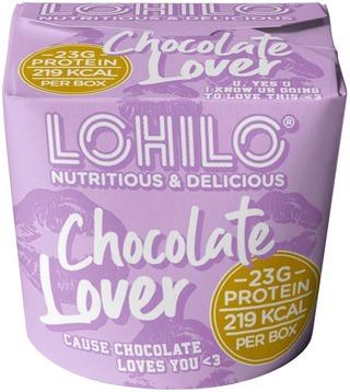 Lohilo Chocolate Lover Suklaanmakuinen Jäätelö 350Ml