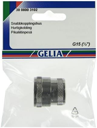 Gelia Pikaliitinpesä Sisäkierre R15 Kromattu