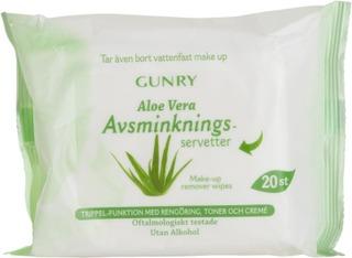 Gunry Cleansing Wipes Aloe Vera 20 Pcs