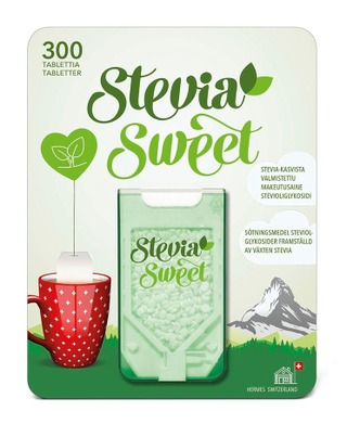 Steviasweet Makeutusainetabletti 300Kpl