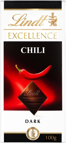 Lindt Excellence Chili Tumma Suklaalevy 100G