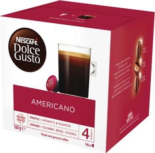 Nescafé Dolce Gusto 16Kaps/160G Americano Kahvikapseli
