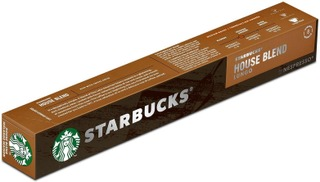 Starbucks Nespresso House Blend Lungo 10 Kaps/57G Kahvikapseli